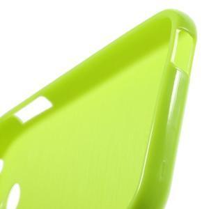 Jelly lesklý gelový obal na HTC Desire 510 - zelený - 6