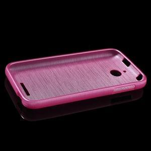 Brushed hladký gelový obal na HTC Desire 510 - rose - 6