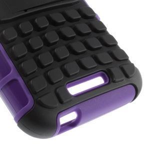 Outdoor odolný kryt na mobil HTC Desire 510 - fialový - 6