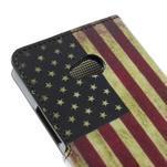 Peněženkové pouzdro na Microsoft Lumia 640 - vlajka USA - 6/7