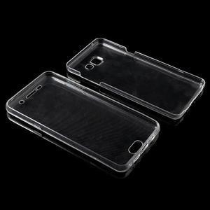 Gelový obal 2v1 pro zadní kryt a displej na Samsung Galaxy A5 (2016) - transparentní - 6