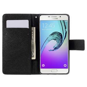 Stylové pouzdro na mobil Samsung Galaxy A5 (2016) - vlci - 6