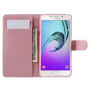 Stylové pouzdro na mobil Samsung Galaxy A5 (2016) - soví rodinka - 6