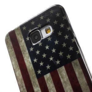 Obal s motivem na mobil Samsung Galaxy A5 (2016) - US vlajka - 6