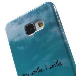 Obal s motivem na mobil Samsung Galaxy A5 (2016) - smile - 6