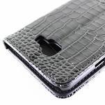 Croco peněženkové pouzdro Samsung Galaxy A5 (2016) - černé - 6/6