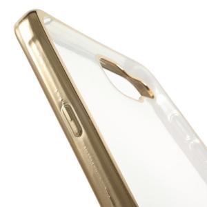 Gelový obal se zlatým lemem na mobil Samsung Galaxy A5 (2016) - 6