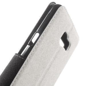 Peněženkové pouzdro s okýnkem na Samsung Galaxy A5 (2016) - bílé - 6