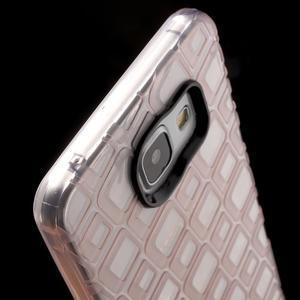 Square gelový obal na mobil Samsung Galaxy A5 (2016) - růžový - 6
