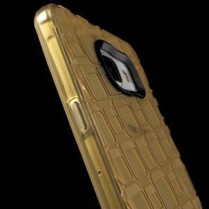 Square gelový obal na mobil Samsung Galaxy A5 (2016) - zlatý - 6