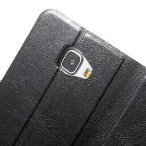 Horse pouzdro na mobil Samsung Galaxy A5 (2016) - černé - 6