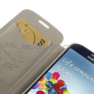 Hnědé peněženkové pouzdro na Samsung Galaxy K Zoom C115 - 6