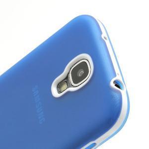 Gelové pouzdro 2v1 na Samsung Galaxy S4 - modré - 6