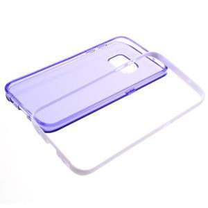Dvoudílný obal na mobil Samsung Galaxy S7 - fialový - 6