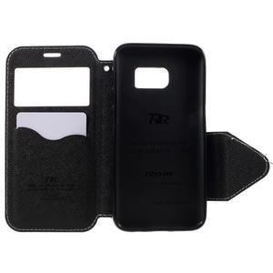 Diary pouzdro s okýnkem na Samsung Galaxy S7 - bílé - 6