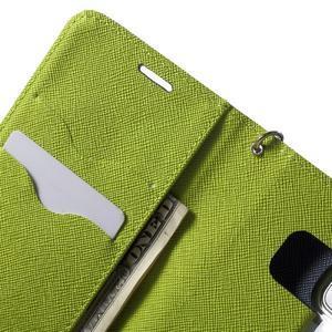 Mercury Orig PU kožené pouzdro na Samsung Galaxy S7 - tmavěmodré - 6