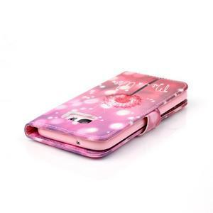Cross peněženkové pouzdro na Samsung Galaxy S7 - pampeliška - 6
