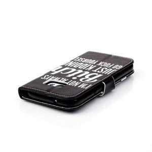 Cross peněženkové pouzdro na Samsung Galaxy S7 - bitch - 6