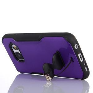 Odolný hybridní kryt na mobil Samsung Galaxy S7 - fialový - 6