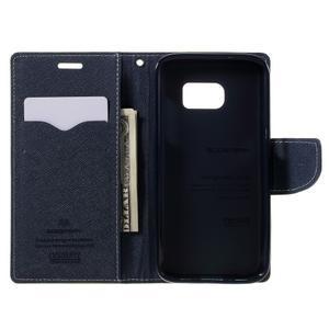 Goosper PU kožené pouzdro na Samsung Galaxy S7 - zelené - 6