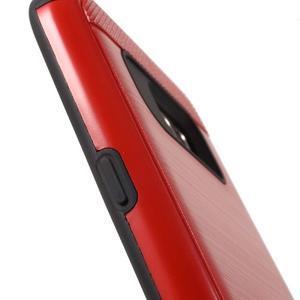 Dvoudílný odolný kryt na Samsung Galaxy S7 - červený - 6