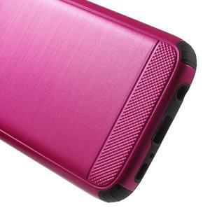 Dvoudílný odolný kryt na Samsung Galaxy S7 - rose - 6