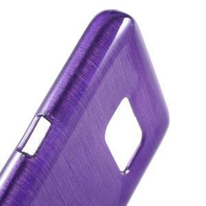 Brush gelový obal na mobil Samsung Galaxy S7 - fialový - 6