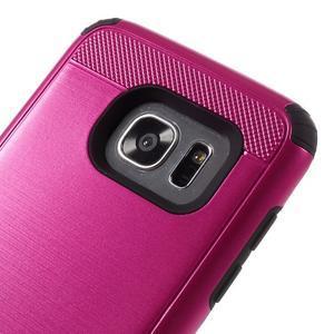 Odolný dvoudílný obal na Samsung Galaxy S7 edge - rose - 6