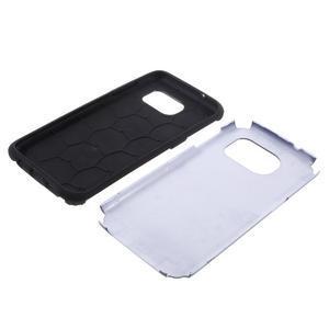 Odolný dvoudílný obal na Samsung Galaxy S7 edge - tmavěmodrý - 6