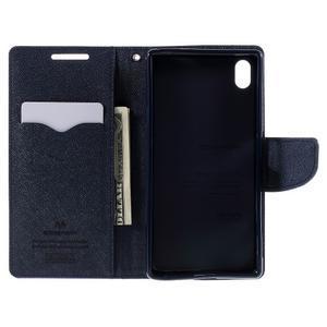 Mercur peněženkové pouzdro na Sony Xperia Z5 - fialové - 6