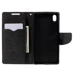 Mercur peněženkové pouzdro na Sony Xperia Z5 - hnědé - 6