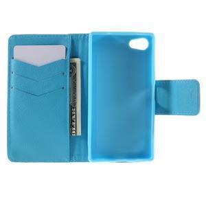Diary peněženkové pouzdro na Sony Xperia Z5 Compact - slon - 6
