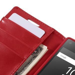 Bluemoon PU kožené pouzdro na Sony Xperia Z5 Compact - rose - 6