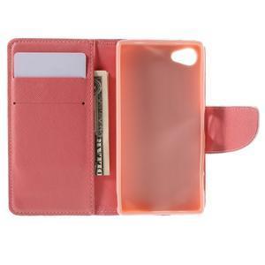 Wally peněženkové pouzdro na Sony Xperia Z5 Compact - srdce - 6
