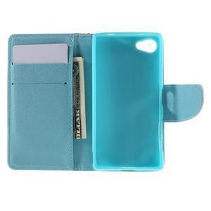 Wally peněženkové pouzdro na Sony Xperia Z5 Compact - květiny - 6