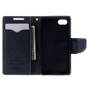 Fancy PU kožené pouzdro na Sony Xperia Z5 Compact - zelené - 6
