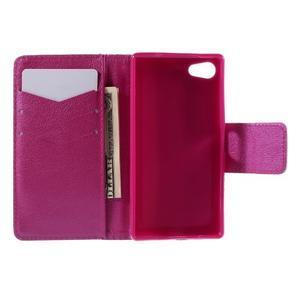 Diary peněženkové pouzdro na Sony Xperia Z5 Compact - flower - 6
