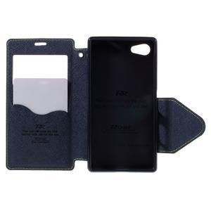 Pouzdro s okýnkem na Sony Xperia Z5 Compact - zelené - 6
