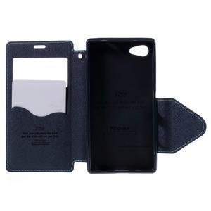 Pouzdro s okýnkem na Sony Xperia Z5 Compact - světlemodré - 6