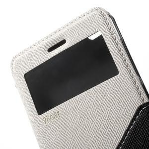 Diary view peněženkové pouzdro na Xiaomi Redmi 3 - bílé - 6