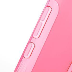 S-line gelový obal na mobil Xiaomi Redmi Note 2 - rose - 6