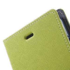 Goos PU kožené pouzdro na Xiaomi Redmi Note 2 - zelené - 6