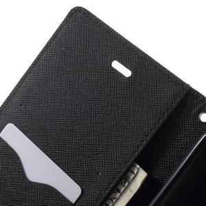 Goos PU kožené pouzdro na Xiaomi Redmi Note 2 - černé - 6