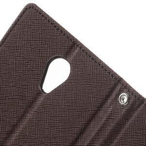 Goos PU kožené pouzdro na Xiaomi Redmi Note 2 - hnědé - 6
