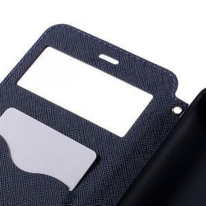 Diary pouzdro s okýnkem na mobil Xiaomi Redmi Note 3  - fialové - 6