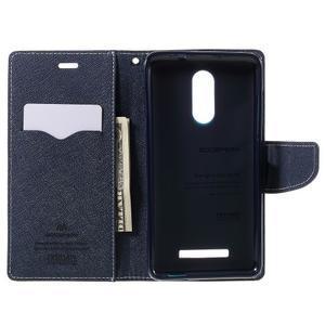 Wallet PU kožené pouzdra na Xiaomi Redmi Note 3 - zelené - 6