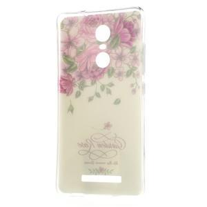 Softy gelový obal na Xiaomi Redmi Note 3 - růže - 6