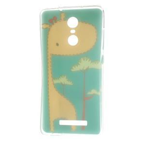 Softy gelový obal na Xiaomi Redmi Note 3 - žirafa - 6