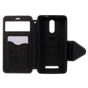 Diary pouzdro s okýnkem na mobil Xiaomi Redmi Note 3  - bílé - 6