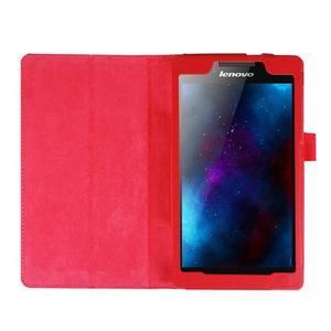 Dvoupolohové pouzdro na tablet Lenovo Tab 2 A7-20 - červené - 6